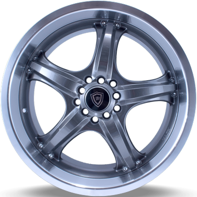 White Diamond W511 Gunmetal Machined Wheels