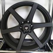 White Diamond 3717 Matte Black Wheels